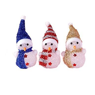olcso Karácsonyi világítás-crystal karácsonyi hóember színes vezetett éjjeli