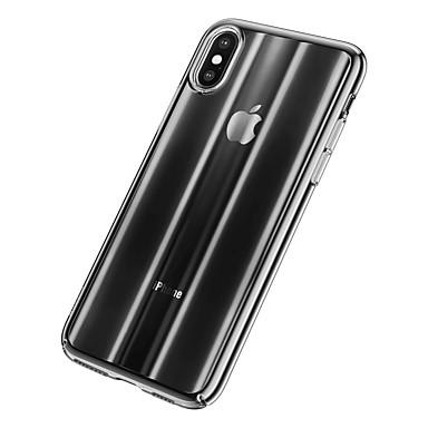 olcso iPhone XS Max tokok-Case Kompatibilitás Apple iPhone XS Max Ultra-vékeny / Áttetsző Fekete tok Színátmenet TPU