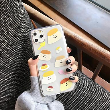 voordelige iPhone 6 Plus hoesjes-hoesje Voor Apple iPhone 11 / iPhone 11 Pro / iPhone 11 Pro Max Transparant / Patroon Achterkant Cartoon TPU