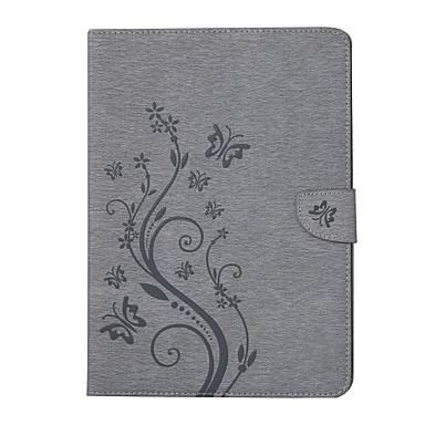 olcso iPad tokok-Case Kompatibilitás Apple iPad Pro 10.5 Kártyatartó Héjtok Virág PU bőr