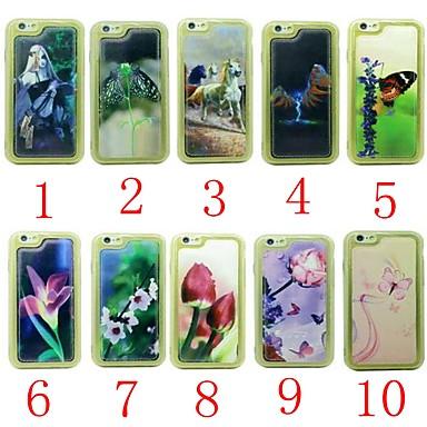 voordelige iPhone-hoesjes-hoesje voor iphone 6s / iphone 6 palace flower pu tpu voor iphone 6s / iphone 6