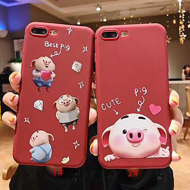 voordelige iPhone X hoesjes-hoesje Voor Apple iPhone 11 / iPhone 11 Pro / iPhone 11 Pro Max Patroon Achterkant Cartoon TPU