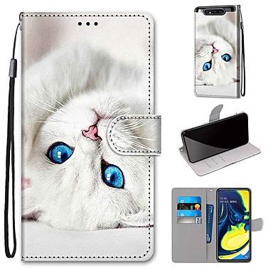 Недорогие Чехлы и кейсы для Galaxy А-Кейс для Назначение SSamsung Galaxy S9 / S9 Plus / A6 (2018) Кошелек / Бумажник для карт / со стендом Чехол Кожа PU / ТПУ