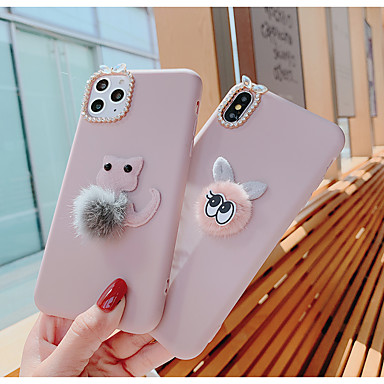 voordelige iPhone-hoesjes-hoesje Voor Apple iPhone 11 / iPhone 11 Pro / iPhone 11 Pro Max Patroon Achterkant Kat silica Gel