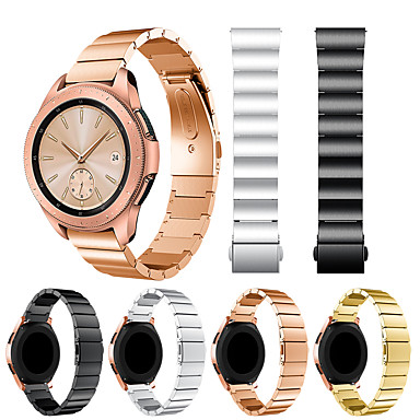 Недорогие Часы для Samsung-smartwatch band для samsung galaxy 42 / активный / активный2 / gear s2 / s2 classic / sport classic пряжка из нержавеющей стали ремешок на запястье