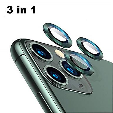 voordelige iPhone screenprotectors-achterkant aluminiumlegering gehard glas lensbeschermer voor iphone 11 pro / 11 pro max