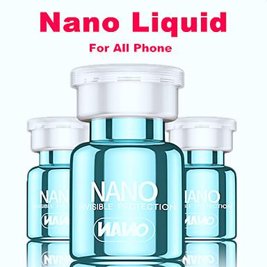 Недорогие Защитные плёнки для экрана iPhone-1 шт. Бутылка нано жидкость защитная пленка для iphone xs max 5 5s 6 6s 7 8 плюс 11 pro max универсальный анти-царапинам изогнутая стеклянная защитная пленка