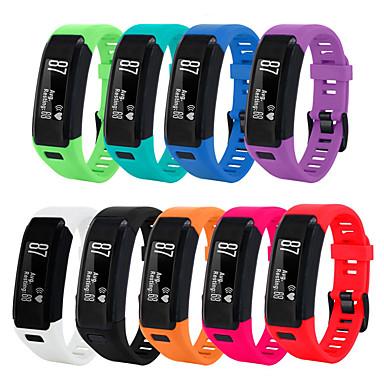 Недорогие Аксессуары для смарт-часов-smartwatch группа для garmin vivosmart hr спортивная группа мягкий силиконовый ремешок на запястье