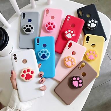 Недорогие Чехлы и кейсы для Huawei-чехол для карты сцены huawei p30 p30 pro p30 lite nova 3i новые конфеты цвета сгущают матовый тпу материал сложить поддержку все включено чехол для телефона wh