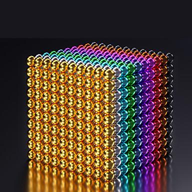 ieftine Jucării cu Magnet-216-1000 pcs 5mm Jucării Magnet bile magnetice Lego Super Strong pământuri rare magneți Magnet Neodymium Puzzle cub Magnetic Adulți Băieți Fete Jucarii Cadou / 14 ani + / 14 ani +
