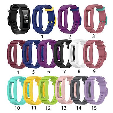 Недорогие Аксессуары для смарт-часов-ремешок для часов для fitbit ace 2 / fitbit inspire hr / fitbit inspire fitbit sport band силиконовый ремешок на запястье