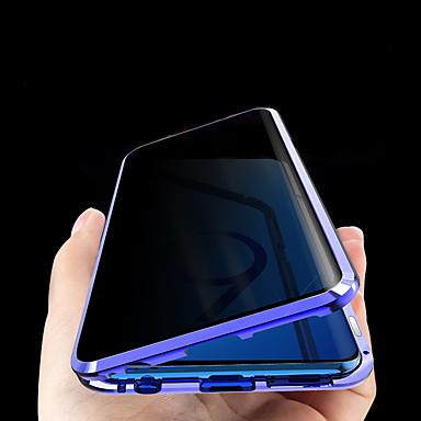 Недорогие Чехол Samsung-конфиденциальность антишпион двухсторонний стеклянный магнитный корпус для Samsung galaxys8 / plus s9 / plus s10 / plus антиписк магнитный двухсторонний металлический корпус из закаленного стекла