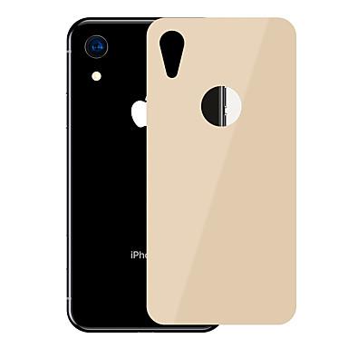 olcso iPhone XR képernyővédő fóliák-AppleScreen ProtectoriPhone XR Karcolásvédő Hátlap fólia 1 db Edzett üveg