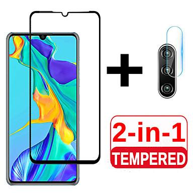 olcso Huawei képernyővédők-2 az 1-ben védőüveg a huawei p30 p30pro p30lite fényképezőgép képernyővédővel edzett üveggel a huawei p 30 lite 30lite könnyű lencse filmhez
