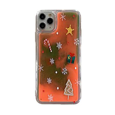 Недорогие Кейсы для iPhone 6 Plus-чехол для яблока iphone 11 / iphone 11 pro / iphone 11 pro max свечение в темноте / задняя крышка с рисунком новогоднее тпу для iphone x xs xr xs max 8 8plus 7 7plus 6 6plus 6s 6s plus