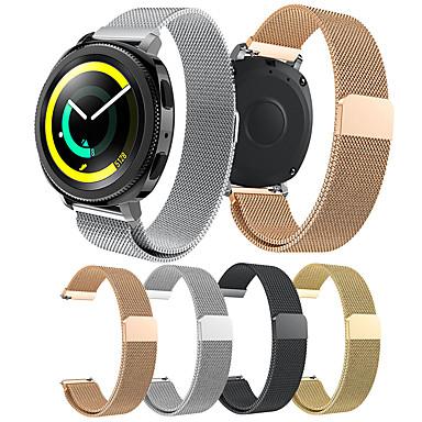 Недорогие Часы для Samsung-smartwatch band для samsung gear sport / s2 / s2 classic galaxy 42 / активный / активный2 милан петля ремешок из нержавеющей стали ремешок на запястье 20мм