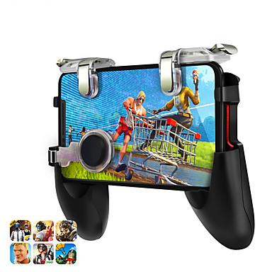 olcso Okostelefon-játék tartozékok-adat béka játékvezérlő pubg mobil trigger cél gomb l1r1 részére iphone xiaomi huawei gamepad joystick shooter pubg