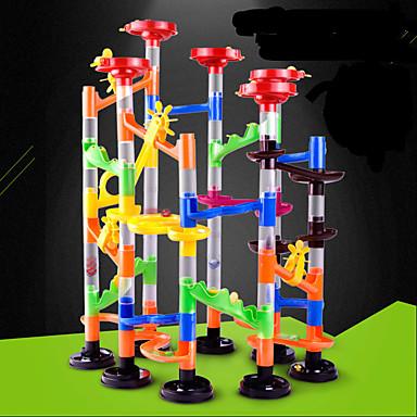olcso Társasjátékok-Marble Run verseny építése Marble Track Sets Golyópálya Újdonságok STEAM Toy ABS 105 pcs Gyermek Uniszex Fiú Lány Játékok Ajándék
