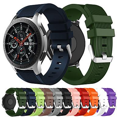 Недорогие Часы для Samsung-силиконовый спортивный ремешок для часов ремешок для часов Samsung Galaxy 468 r800 / gear s3 / gear2 r380 / gear2 neo r381 / live r382