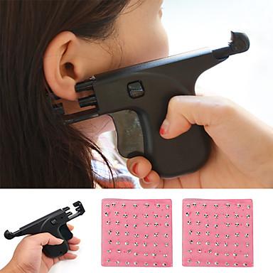 Недорогие Все для здоровья и личного пользования-комплект пистолета для прокалывания ушей комплект пистолета для безопасности от прокалывания уха с инструментами для сережек