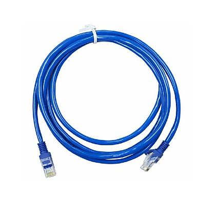 olcso Kábelek & adapterek-3 méter rj-45 kék ethernet internet lan cat5e hálózati kábel számítógépes modem útválasztóhoz