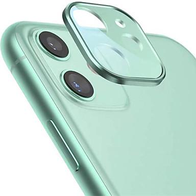 cheap iPhone Screen Protectors-Camera Lens Protector for iPhone 11 Camera Films Metal Frame 9H Tempered Glass Protection Easy Install High Definition Anti-Scratch Compatible with Apple iPhone 11 Camera Film(6.1'')