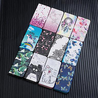 levne Galaxy J pouzdra / obaly-Carcasă Pro Samsung Galaxy S9 / S9 Plus / S8 Plus Peněženka / Pouzdro na karty / Nárazuvzdorné Celý kryt Kočka / Motýl / Květiny PU kůže