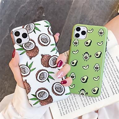 Недорогие Кейсы для iPhone X-чехол для яблока iphone 11 / iphone 11 pro / iphone 11 pro max шаблон задняя крышка еда тпу x xs xsmax xr 6 6 плюс 6 splus 6 s 7 7 плюс 8 8 плюс
