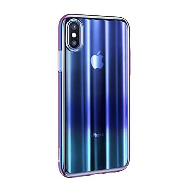 olcso iPhone tokok-Case Kompatibilitás Apple iPhone XR Ultra-vékeny / Áttetsző Fekete tok Színátmenet TPU