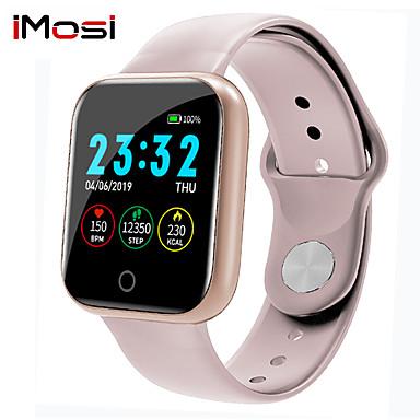 رخيصةأون ساعات ذكية-معدل ضربات القلب imosi ضغط الدم الأكسجين i5 الذكية ووتش الرجال النساء smartwatch ل أبل ووتش الروبوت ios الهاتف