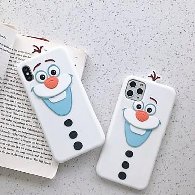 Недорогие Кейсы для iPhone 6 Plus-Кейс для Назначение Apple iPhone 11 / iPhone 11 Pro / iPhone 11 Pro Max Защита от удара Кейс на заднюю панель Мультипликация ТПУ