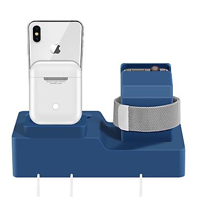 Недорогие Крепления и держатели для Apple Watch-яблоко смотреть классный силикагель стол