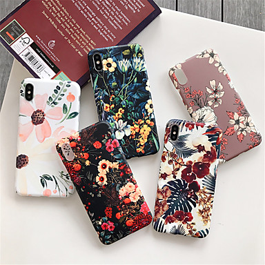 cheap New Arrivals-Case for Apple scene map iPhone 11 X XS XR XS Max 8 colorful leaf pattern thickened TPU material IMD process all-inclusive mobile phone case BC