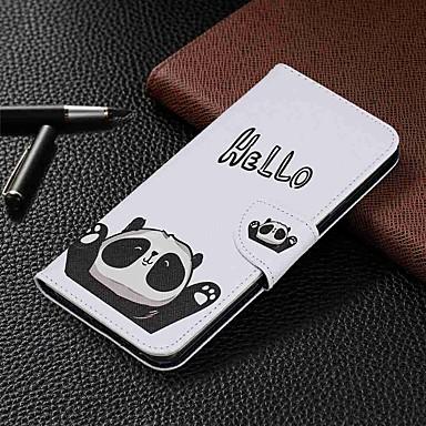 olcso Samsung tartozékok-Case Kompatibilitás Samsung Galaxy S9 / S9 Plus / S8 Plus Pénztárca / Kártyatartó / Állvánnyal Héjtok Panda PU bőr / TPU