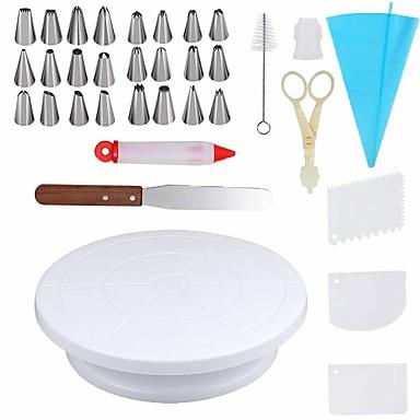 povoljno Pribor za pečenje i gadgeti-34 kom / set s kliznim ukrasnim setom torti za ukrašavanje torti za ukrašavanje ukrasnih ukrasa