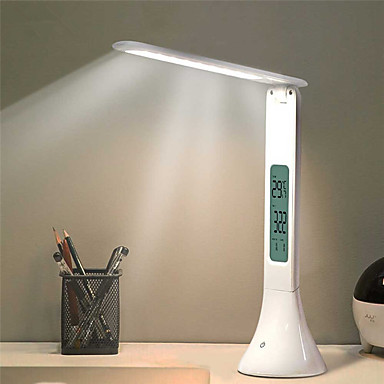 povoljno Smart Lights-LED stolna svjetiljka sklopiva prigušiva svjetiljka sa dodirnim stolom s kalendarskom temperaturom budilica stolno svjetlo noćna svjetla
