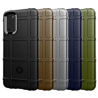 Недорогие Чехлы и кейсы для Motorola-Кейс для Назначение Motorola MOTO G6 / Moto G6 Play / Moto G6 Plus Защита от удара Кейс на заднюю панель Однотонный силикагель