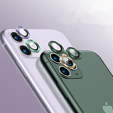 voordelige iPhone screenprotectors-achterkant aluminiumlegering gehard glas lensbeschermer voor iPhone 11/11 pro / 11 pro max