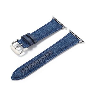 Недорогие Аксессуары для смарт-часов-Ремешок для часов для Apple Watch Series 4 / Apple Watch Series 4/3/2/1 / Apple Watch Series 3 Apple Классическая застежка / Современная застежка / Бизнес группа Материал / Нейлон Повязка на запястье