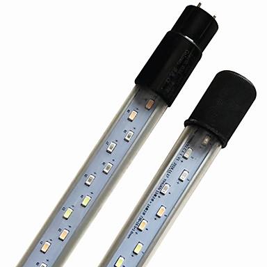 olcso Kiegészítők akváriumokhoz és halaknak-Akváriumok Akváriumok LED fény Fehér / Kék Energiatakarékos / 2 módban LED lámpa 220 V V Fém