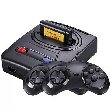 tanie Konsole do gier wideo-a6 (fc arcade) konsola do gier wbudowana w 1 szt. gier 3 calowy nowy design