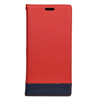 voordelige Galaxy S-serie hoesjes / covers-hoesje Voor Samsung Galaxy S9 / S9 Plus / S8 Plus Kaarthouder Volledig hoesje Effen PU-nahka