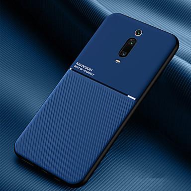Недорогие Чехлы и кейсы для Xiaomi-чехол для xiaomi сцена карта redmi note 8 примечание 8 pro k20 k20 pro новая серия муар сплошной цвет матовый анти-отпечатков пальцев предотвращение потоотделения искусственная кожа тпу два в одном
