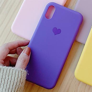 voordelige iPhone-hoesjes-hoesje voor Apple scène kaart iPhone 11 x xs xr xs max. 8 kleine frisse liefde patroon eenvoudig frosted tpu all-inclusive telefoon hoesje tongxin