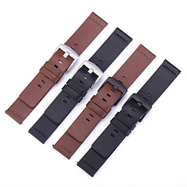 Недорогие Часы для Samsung-Ремешок для часов для Gear S3 Frontier / Gear S3 Classic / Gear S3 Classic LTE Samsung / Samsung Galaxy Кожаный ремешок Натуральная кожа Повязка на запястье