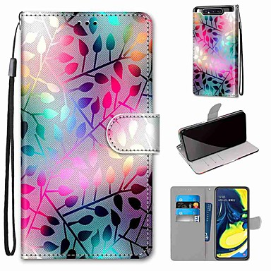 cheap New Arrivals-Case For Samsung Galaxy S10 / S10 Plus / S10 E Wallet / Card Holder / with Stand Translucent Glass PU Leather / TPU for A10s / A20s / A50(2019) / A70(2019) / A90(2019) / Note 10 Plus / J6 Plus(2018)