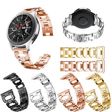 Недорогие Часы для Samsung-Ремешок для часов для Gear S3 Frontier / Gear S3 Classic / Gear S3 Classic LTE Samsung / Samsung Galaxy Дизайн украшения Нержавеющая сталь Повязка на запястье