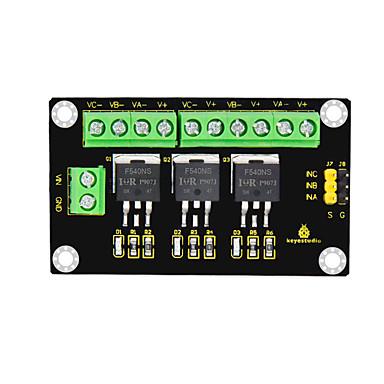 olcso Arduino tartozékok-keyestudio 3-csatornás irf540ns nagy jelenlegi mos modulleblack és környezetbarát