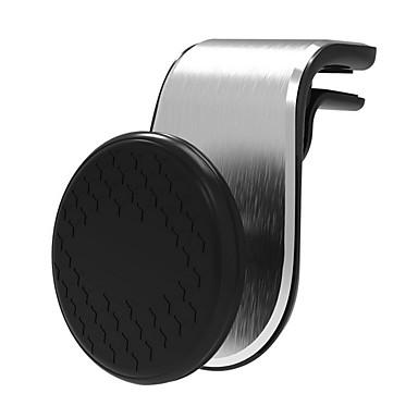 olcso Beltéri autós kiegészítők-mágneses autós telefontartó univerzális légkivezető fém mágneses állvány autószellőző klip mobil navigációs mágnes okostelefon konzol