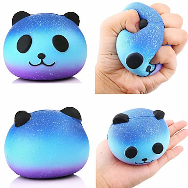 cheap Stress Relievers-LT.Squishies Squeeze Toy / Sensory Toy Stress Reliever Panda Squishy Decompression Toys 1 pcs Children's All Boys' Girls' Toy Gift